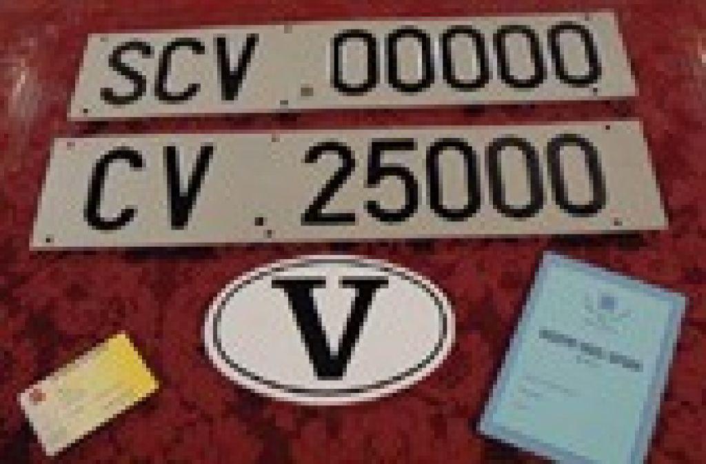 Automobile License Plates