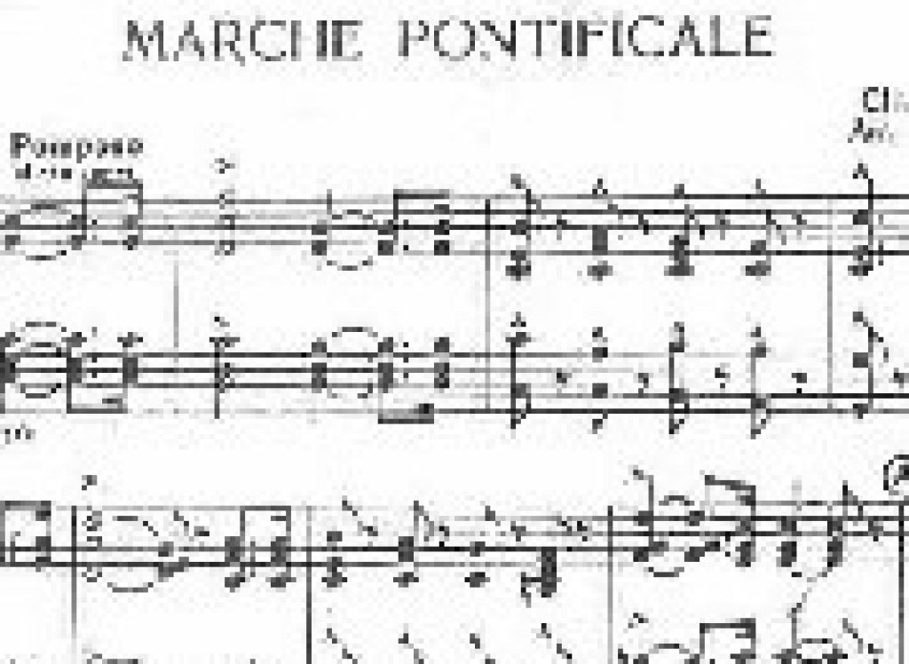 Pontifical Anthem and it's story
