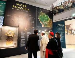 Il Papa ai Musei Vaticani