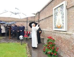 Si arricchisce il percorso mariano nei Giardini Vaticani