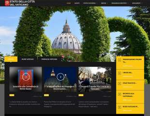 Online il restyling del sito 'vaticanstate.va'