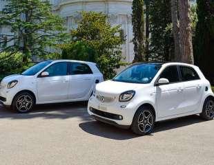 Due smart EQ forfour per la mobilità sostenibile del Governatorato dello Stato della Città del Vaticano