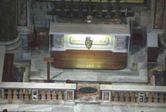 Tomba del Santo Giovanni Paolo II